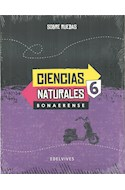 Papel CIENCIAS NATURALES 6 EDELVIVES SOBRE RUEDAS BONAERENSE (NOVEDAD 2017)