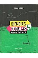 Papel CIENCIAS SOCIALES 4 EDELVIVES SOBRE RUEDAS BONAERENSE (NOVEDAD 2017)