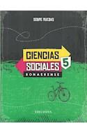 Papel CIENCIAS SOCIALES 5 EDELVIVES SOBRE RUEDAS BONAERENSE (NOVEDAD 2017)