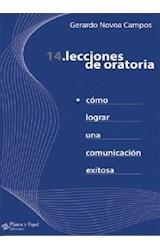 Papel 14 LECCIONES DE ORATORIA