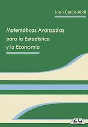 Libro Matematicas Avanzadas Para La Estadistica Y La Economia