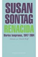 Papel RENACIDA DIARIOS TEMPRANOS [1947-1964] (COELCCION LITERATURA MONDADORI)