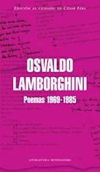 Papel Osvaldo Lamborghini Poemas 1969-1985