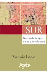 Papel SUR BARRIO DE TANGO, AMOR Y REVOLUCION