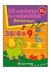 Papel Mi Cuaderno De Matematica - Divisiones