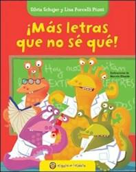 Libro Abecedario  Mas Letras Que No Se Que !