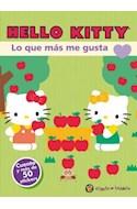 Papel HELLO KITTY LO QUE MAS ME GUSTA (MIS PERSONAJES FAVORITOS) (CUENTO Y MAS DE 50 STICKERS)