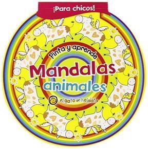 Papel Pinta Y Aprende Con Mandalas, Animales