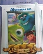 Libro Monsters University  Ventanas Magicas
