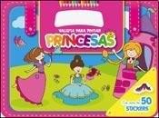 Papel Valijitas Para Pintar Princesas