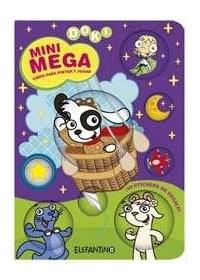 Papel Mini Mena - Doki - Libro Para Pintar Y Jugar