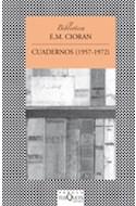 Papel CUADERNOS (1957-1972) (COLECCION FABULA)