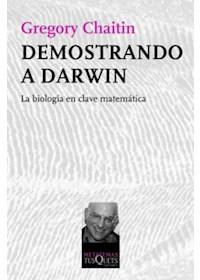 Papel Demostrando A Darwin Biología En Clave Matemática