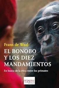 Libro El Bonobo Y Los Diez Mandamientos