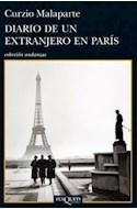 Papel DIARIO DE UN EXTRANJERO EN PARIS (COLECCION ANDANZAS 82  8)