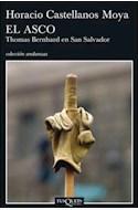 Papel ASCO THOMAS BERNHARD EN SAN SALVADOR (COLECCION ANDANZAS)