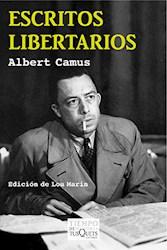 Papel Escritos Libertarios -Albert Camus