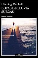 Papel BOTAS DE LLUVIA SUECAS (COLECCION ANDANZAS 886)