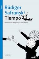 Papel TIEMPO LA DIMENSION TEMPORAL Y EL ARTE DE VIVIR (COLECCION ENSAYO 94) (RUSTICA)