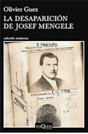Papel LA DESAPARICION DE JOSEF MENGELE