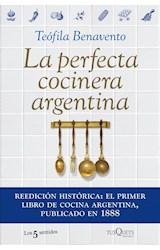 Papel PERFECTA COCINERA ARGENTINA (COLECCION LOS 5 SENTIDOS)