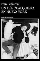 Libro Un Dia Cualquiera En Nueva York
