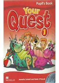 Papel Your Quest 1 Pupil'S Book + Cd