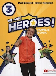 Papel We Are Heroes! 3 Pupil'S Book