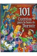 Papel 101 CUENTOS PARA LA HORA DE DORMIR (ROJO) (COLECCION PEQUEÑOS GRANDES CUENTOS)
