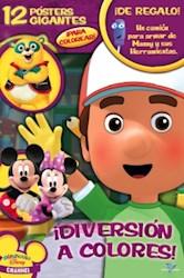 Papel Disney Mega Juegos Nº 3 Diversion A Colores