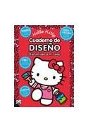 Papel CUADERNO DE DISEÑO BIENVENIDAS A MI CASA (HELLO KITTY)  (C/STICKERS MOLDES Y RECORTABLES)