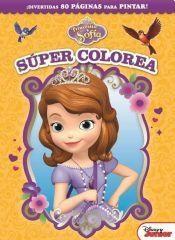 Papel Coleccion Mega Libro Nº 2 Princesita Sofia Super Colorea