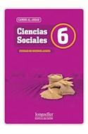 Papel CIENCIAS SOCIALES 6 LONGSELLER CAMINO AL ANDAR CIUDAD DE BUENOS AIRES (NOVEDAD 2012)