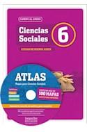 Papel CIENCIAS SOCIALES 6 LONGSELLER CAMINO AL ANDAR CIUDAD DE BUENOS AIRES (INCLUYE CD) (2013)