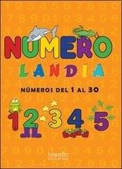 Papel Numerolandia - Numeros Del 1 Al 30
