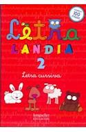 Papel LETRALANDIA 2 LETRA CURSIVA (CON MAS DE 100 STICKERS) (RUSTICA)
