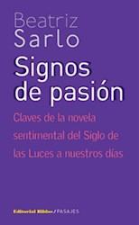 Libro Signos De Pasion