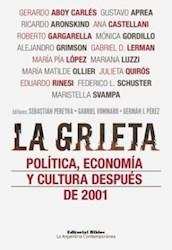 Libro La Grieta