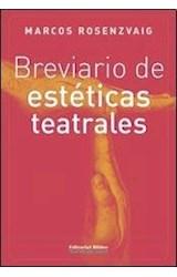 Papel BREVIARIO DE ESTETICAS TEATRALES
