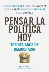 Libro Pensar La Politica Hoy