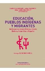 Papel EDUCACION, PUEBLOS INDIGENAS Y MIGRANTES