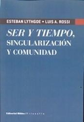 Libro Ser Y Tiempo , Singularizacion Y Comunidad