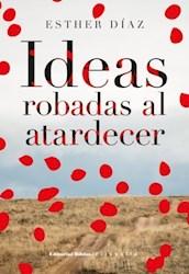 Libro Ideas Robadas Al Atardecer