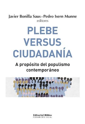 E-book Plebe Versus Ciudadanía
