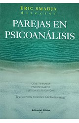 Papel PAREJAS EN PSICOANALISIS