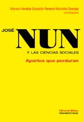 Libro Jose Nun Y La Ciencias Sociales