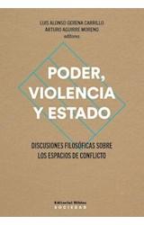 Papel PODER, VIOLENCIA Y ESTADO
