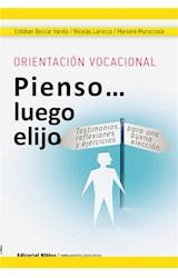 E-book Orientación vocacional: Pienso luego elijo