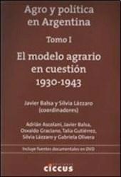 Libro 1. Agro Y Politica En La Argentina