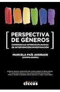 Papel PERSPECTIVA DE GENEROS EXPERIENCIAS INTERDISCIPLINARIAS DE INTERVENCION/INVESTIGACION